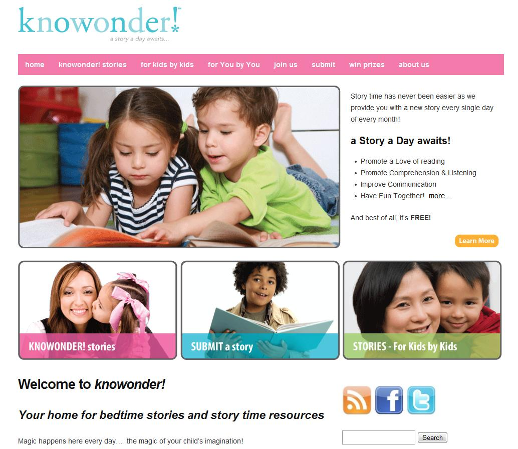 Knowonder! looking for children's short stories – Lou