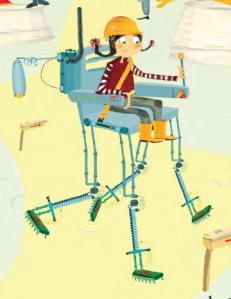 Science fair walking chair