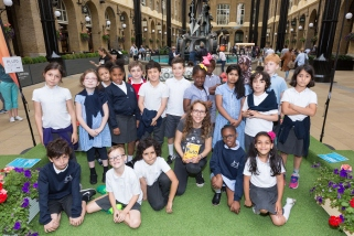 Children's Author reading event at Hay's Galleria