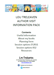 Download author visit information pack