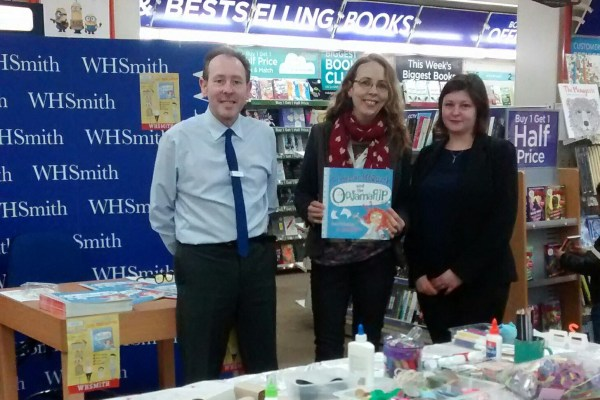 wh smith managers
