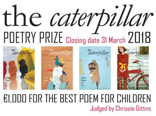 Caterpillar poetry prize