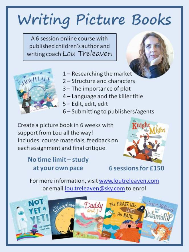 Writing Picture Books poster 2021